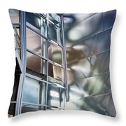 Walt Disney Hall Throw Pillow