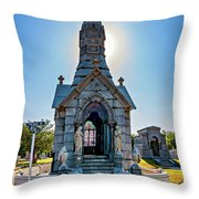 Was On Avenues Am Throw Pillow
