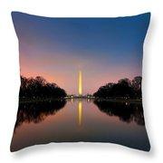 Washington Monument 1 Throw Pillow