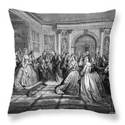 Washington Reception Throw Pillow by Granger