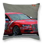 Watch Out Audi Throw Pillow