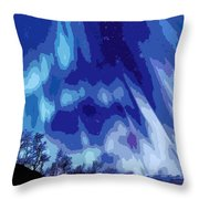Watcher Of The Skies Throw Pillow