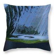 Water Drop Forming Throw Pillow