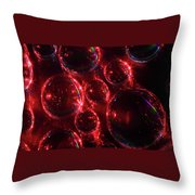 Water Droplets 2 Throw Pillow