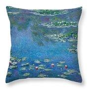 Water Lilies 1906 Throw Pillow