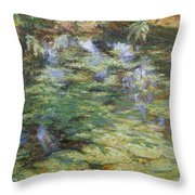 Water-lilies Throw Pillow