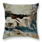 Watercolor 902040 Throw Pillow
