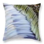 Waterfall Throw Pillow by June Marie Sobrito