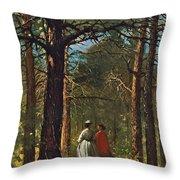 Waverly Oaks Throw Pillow