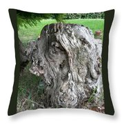 Weird Trunk Throw Pillow