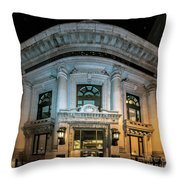 Wells Fargo Bank Building In San Francisco, California Throw Pillow