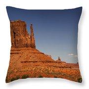 West Mitten Butte Throw Pillow