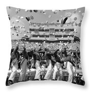 West Point Graduation Throw Pillow
