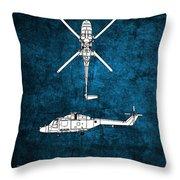 Westland Lynx Throw Pillow