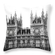 Westminster - London Throw Pillow