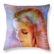 What Matters Throw Pillow