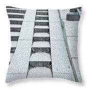 Wheelchair Ramp Throw Pillow
