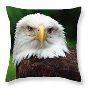 Where Eagles Dare Throw Pillow