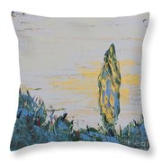 Where Once There Were Thorns 3 Throw Pillow