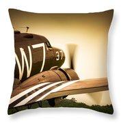 Whiskey Seven Throw Pillow