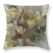 Whispering Bouquet 1 Throw Pillow