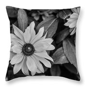 White Flower Beauty  Throw Pillow
