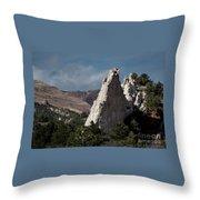 White Rock, Garden Of The Gods Throw Pillow