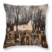 Wildasin Meetinghouse Throw Pillow