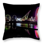 Wildwood New Jersey Throw Pillow