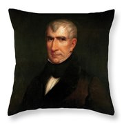 William Henry Harrison Throw Pillow