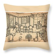 William Tell And Leopold I Throw Pillow