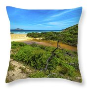 Wilsons Promontory National Park Throw Pillow