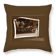 Window Dreaming Throw Pillow