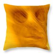 Window Pane Willie Throw Pillow