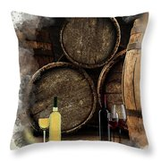 Wine For Life Throw Pillow