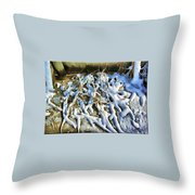 Winter Design Throw Pillow