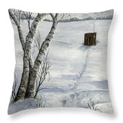 Winter Splendor Throw Pillow