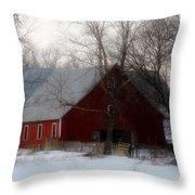 Winter's Blessing Throw Pillow