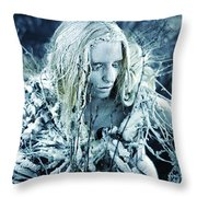 Winter's Sorrow Throw Pillow