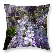 Wisteria Cascading Throw Pillow