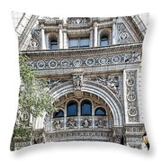 Witherspoon Building Throw Pillow
