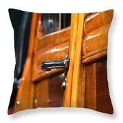 Woodie Handle Throw Pillow
