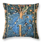 Woodpecker Tapestry Throw Pillow
