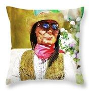 Woody Throw Pillow