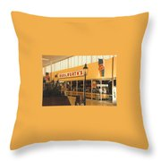 Woolworth's Store At River Roads Mall  Throw Pillow