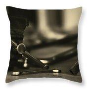 Workbench Throw Pillow