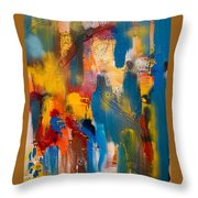 World Electricity Throw Pillow