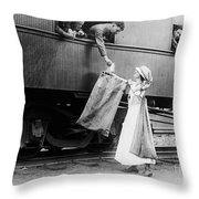 World War I: Red Cross Throw Pillow