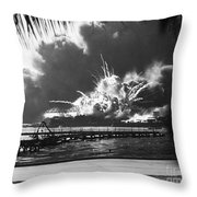 World War II: Pearl Harbor Throw Pillow