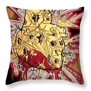 Wounds With Value Throw Pillow
